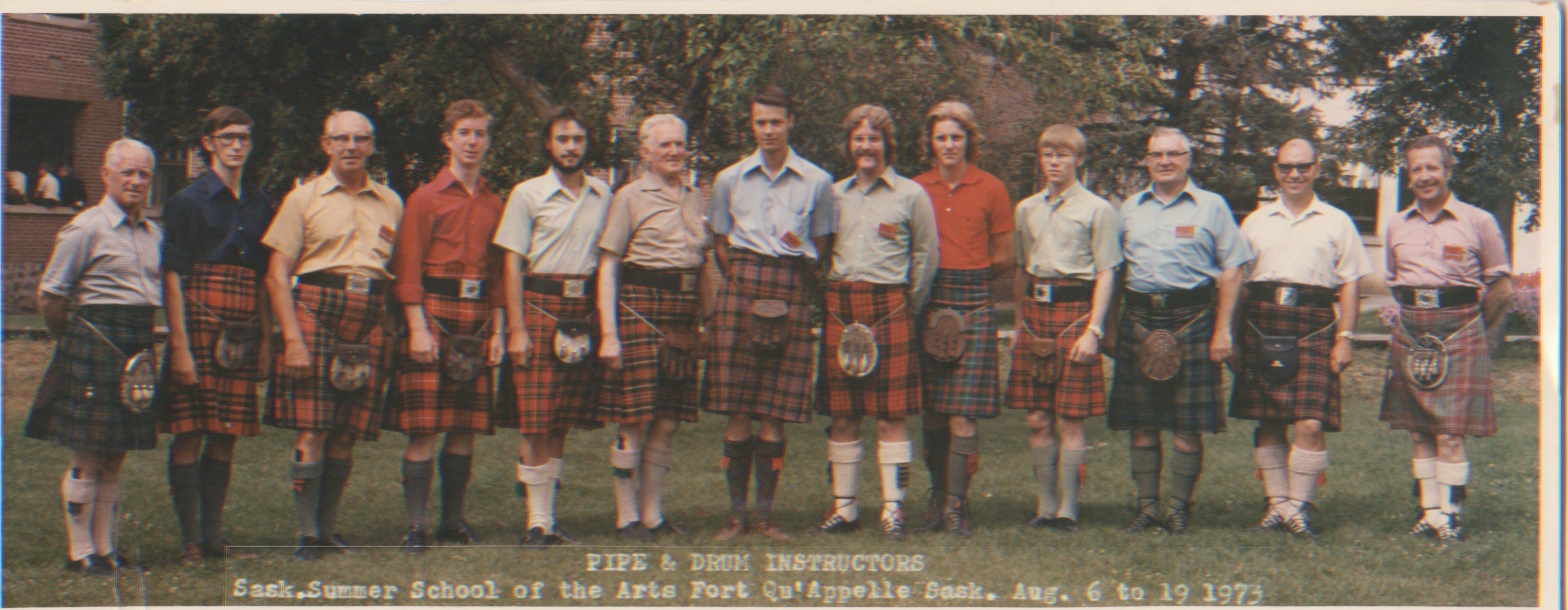 fortsan instructors 1973