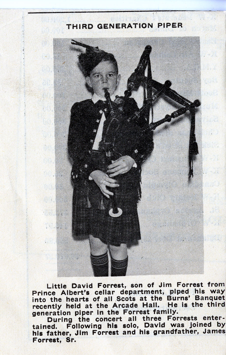 David Forrest son and grandson of Jim Forrest 009