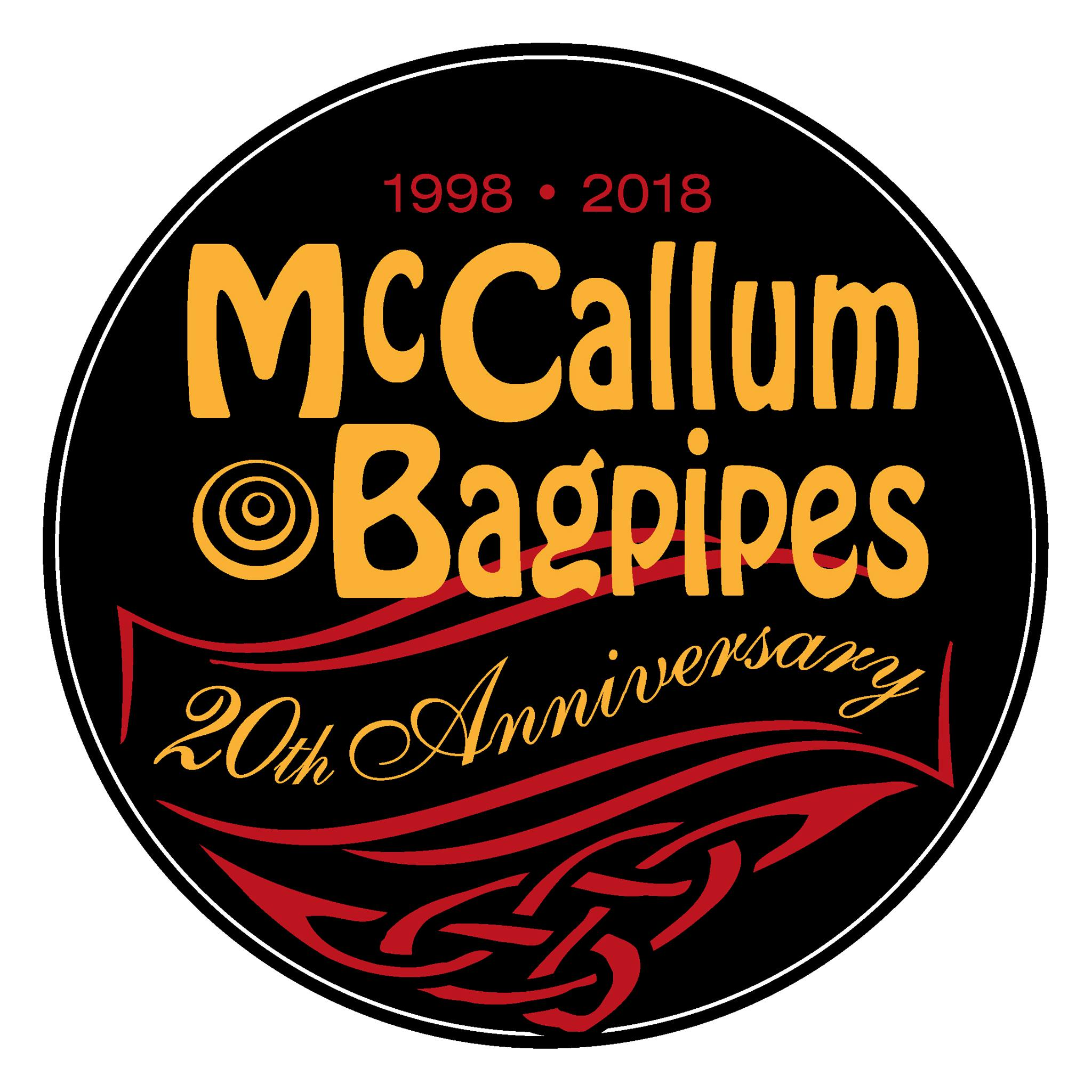 McCallum 20th logo